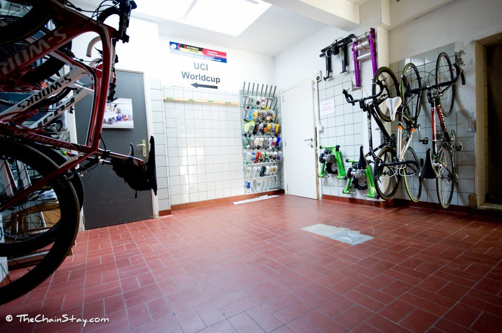 The ChainStay Bike Room