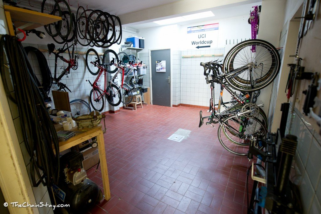 The ChainStay Bike Room, View 2