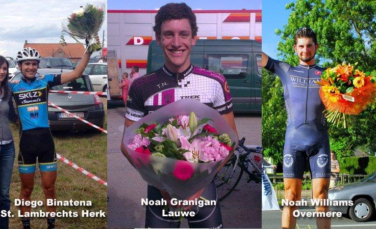 Three Americans Win Kermis races in Belgium