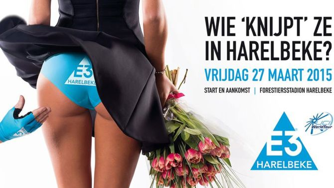 The 2015 contriversail ad from the E3 Prijs Harelbeke
